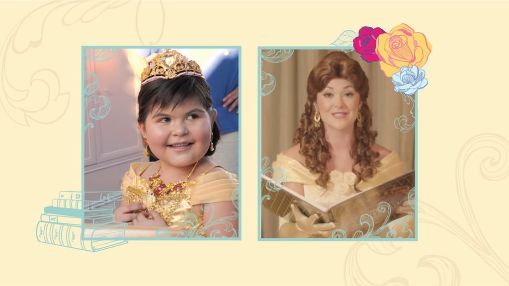 Disney Grants A Special Make A Wish Visit From Belle
