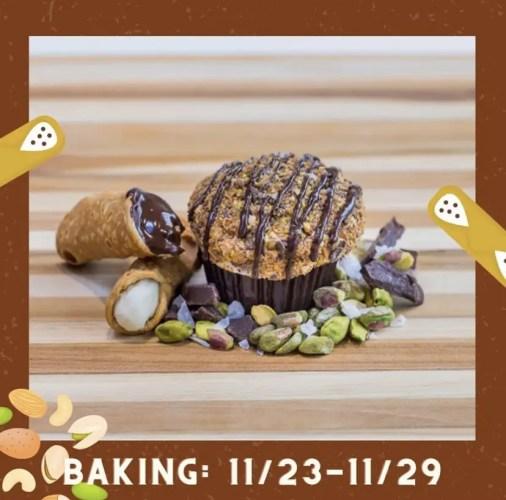 Cannoli cupcake Sprinkles