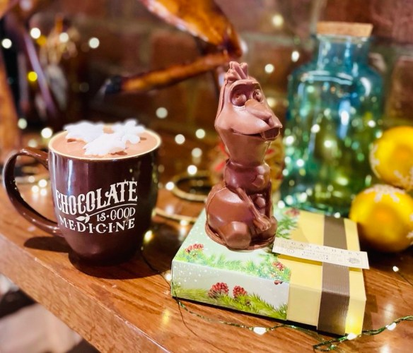 Olaf hot cocoa surprise kit