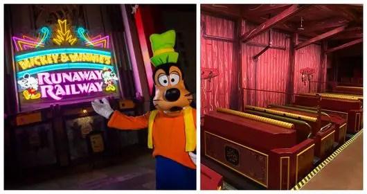 Mickey and Minnie's Runaway Railway adds Plexiglass dividers