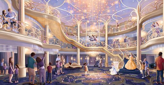 Disney confirms maiden voyage of 3 new Cruise Ships