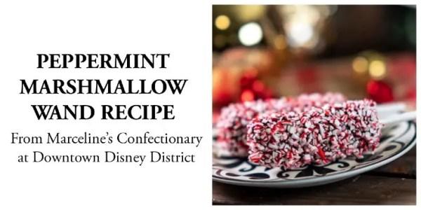 Peppermint marshmallow wand recipe