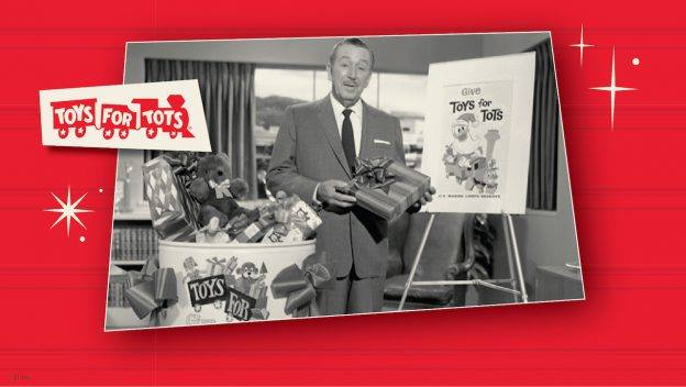 Disney deliver 1000 toys to Toys for Tots in time for the Holidays!