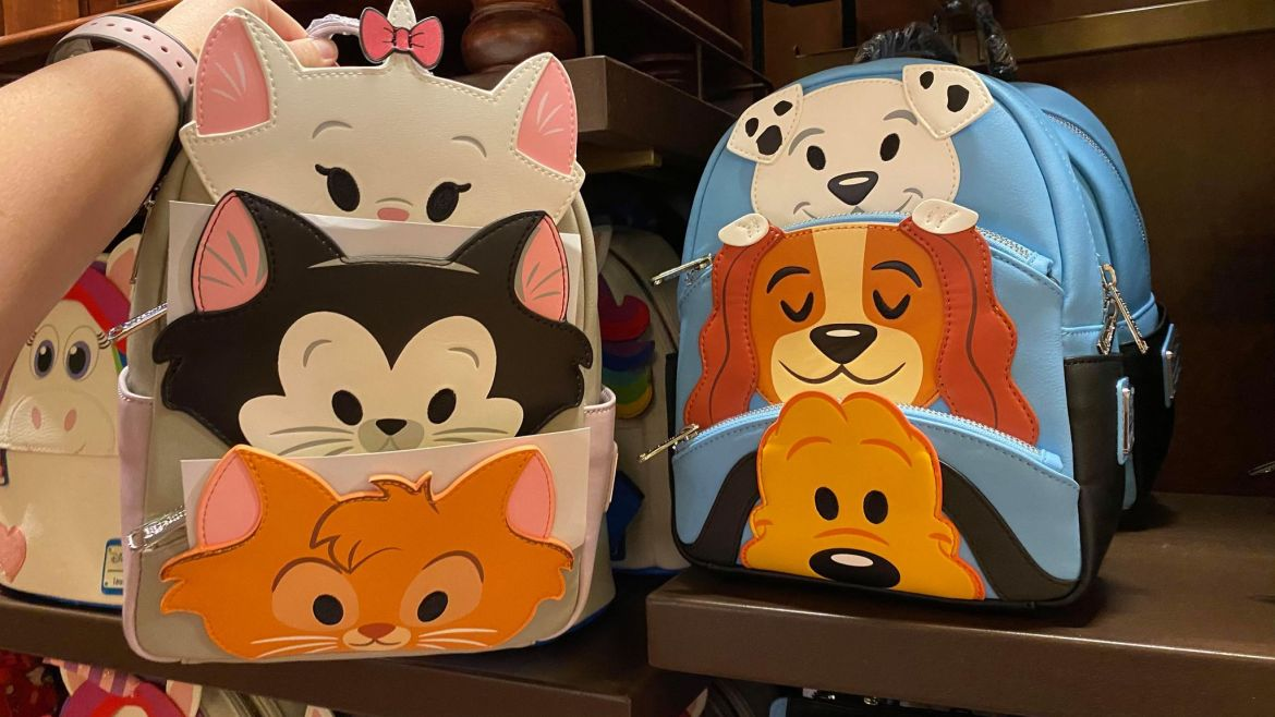 Adorable New Disney Cats And Disney Dogs Loungefly Collection