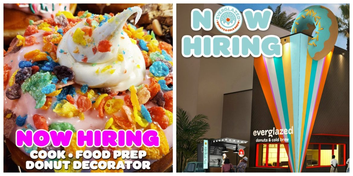 Everglazed Donuts & Cold Brew Now Hiring in Disney Springs