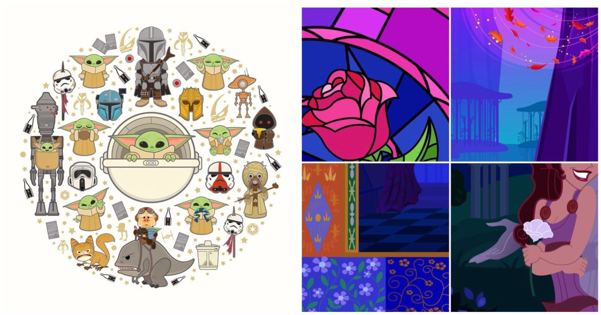 Disney Artists Share Sneak Peek at artwork coming to Epcot Festival of the Arts