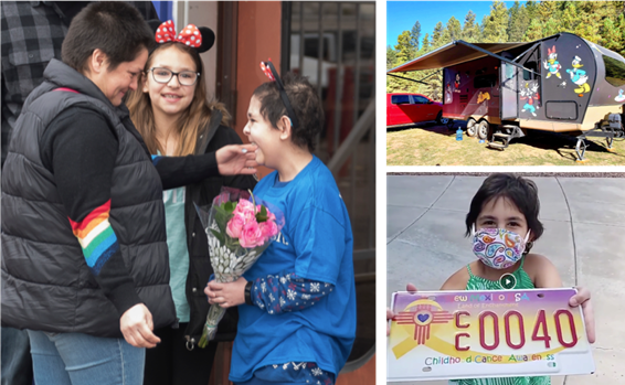 Make a wish grants a Magical Disney Wish for a thoughtful little camper