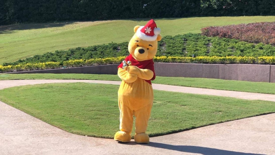 Catch a Christmas Pooh at Epcot for the holidays