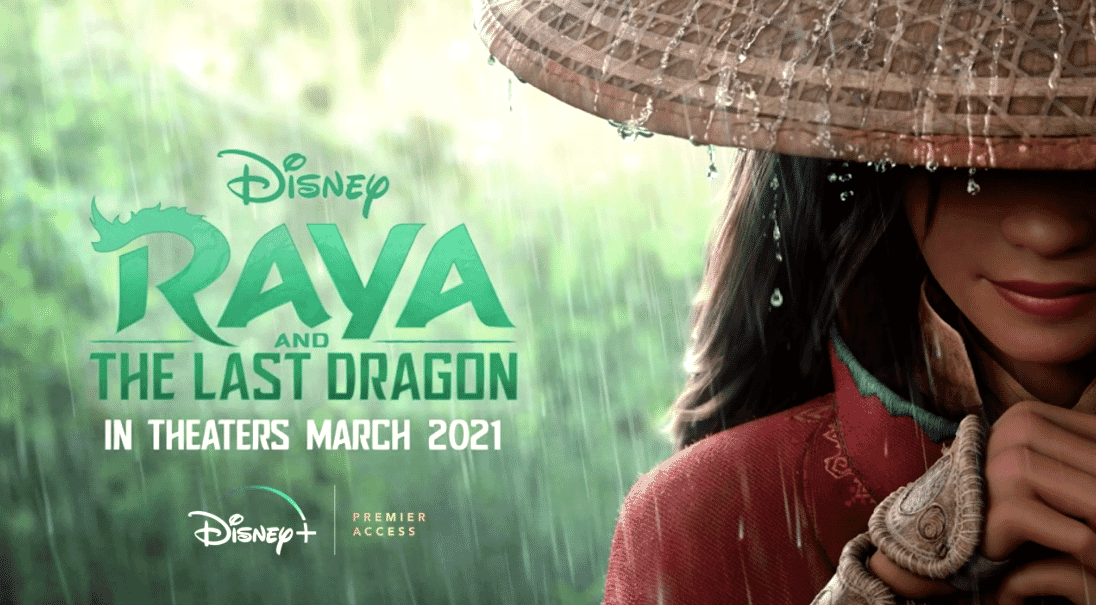 Raya and the Last Dragon coming to Theaters and Disney+ at the same time