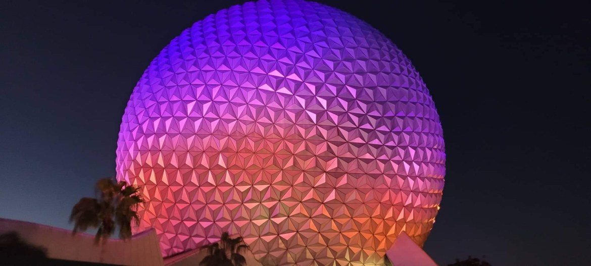 Permits filed for Spaceship Earth lighting