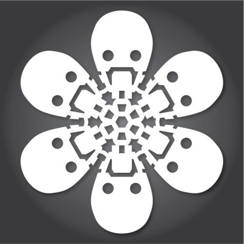 Make your own Star Wars Paper Snowflakes 13