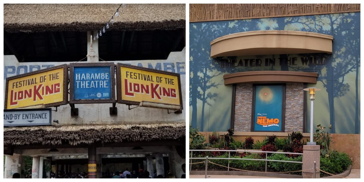 Two attractions have been removed from new Animal Kingdom Park Maps