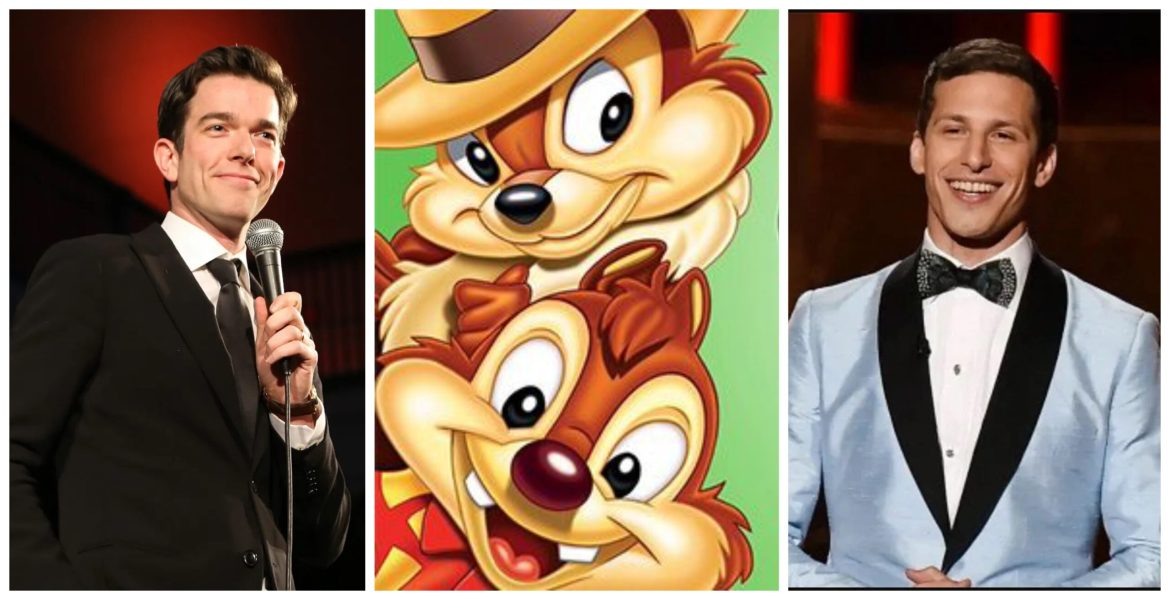 Andy Samberg and John Mulaney to Star in 'Chip N' Dale: Rescue Rangers' Disney+ Movie