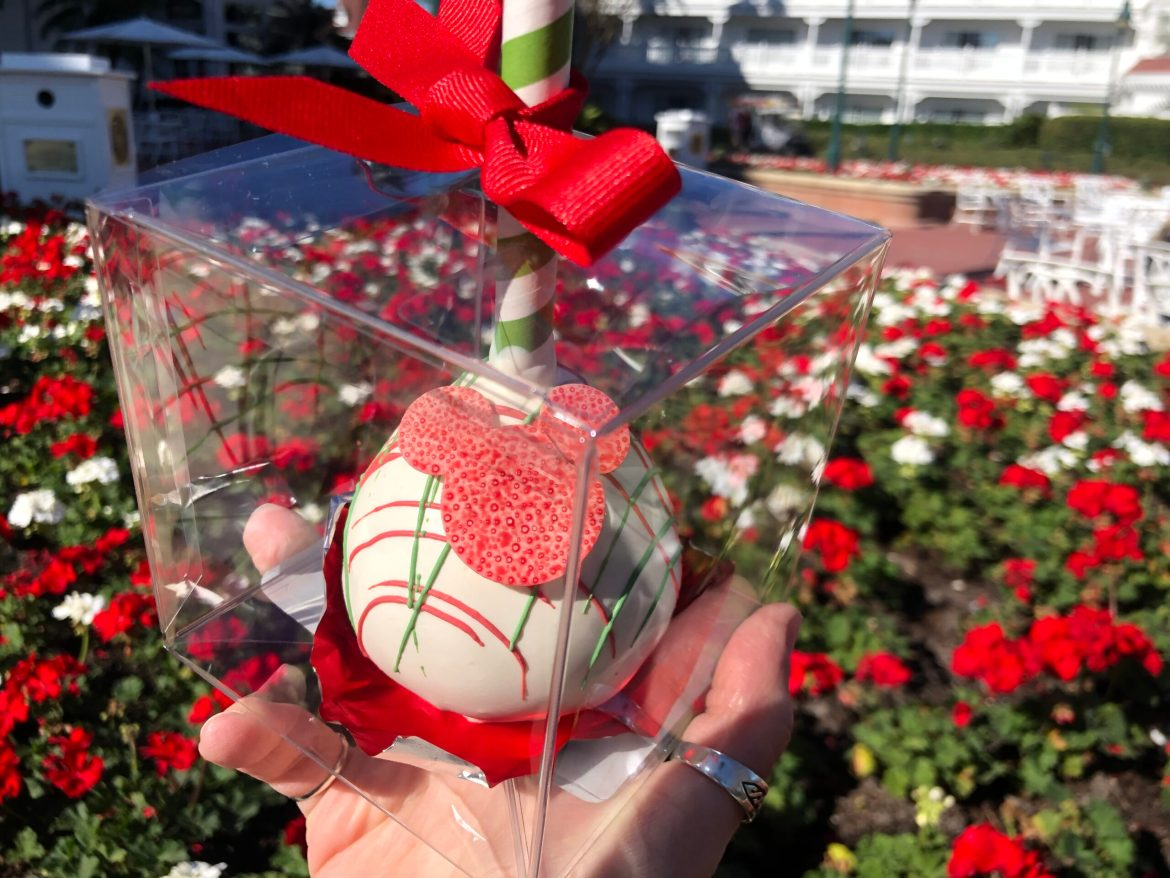 HUGE Happy Holidays Cake Pop Available at the Grand Floridian