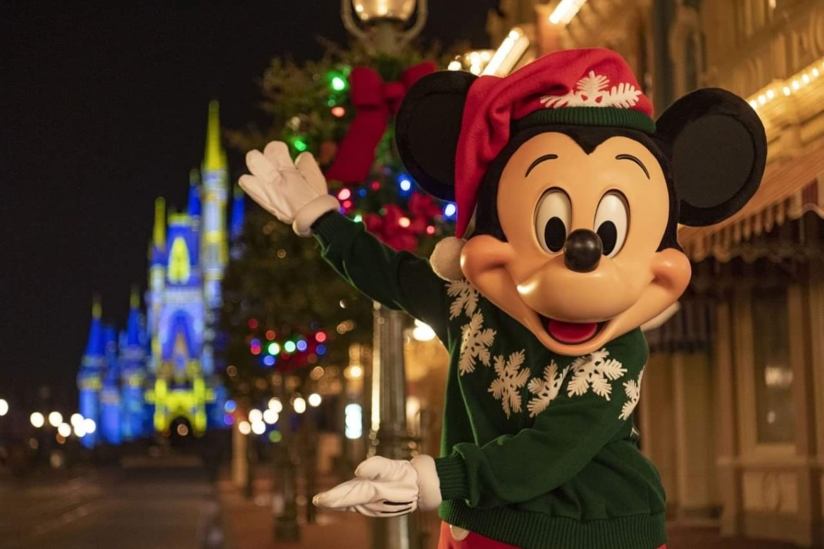 When does Disney World take down their Christmas Decorations?