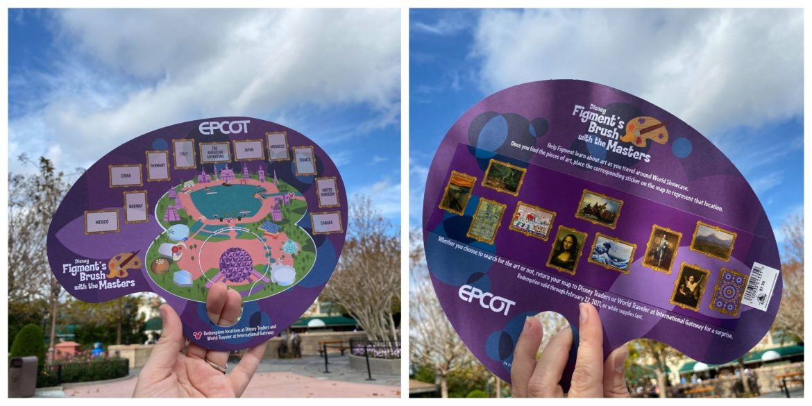 Figment's Brush with the Masters returns to EPCOT Festival of the Arts