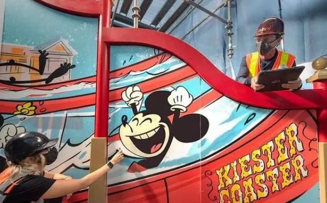 First look: Keister Coaster slide at Disney's BoardWalk Resort