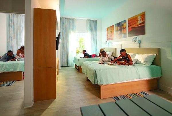 Universal resort room