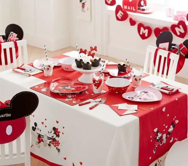 Disney Valentines Day Pottery Barn