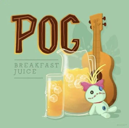 POG Breakfast Juice Recipe From Disney's Aulani Resort! 1