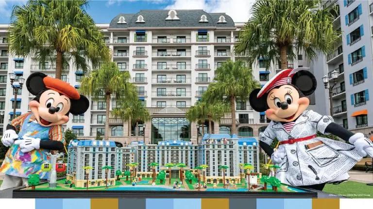 Disney Unveils LEGO Model to celebrate Riviera Resort First Anniversary