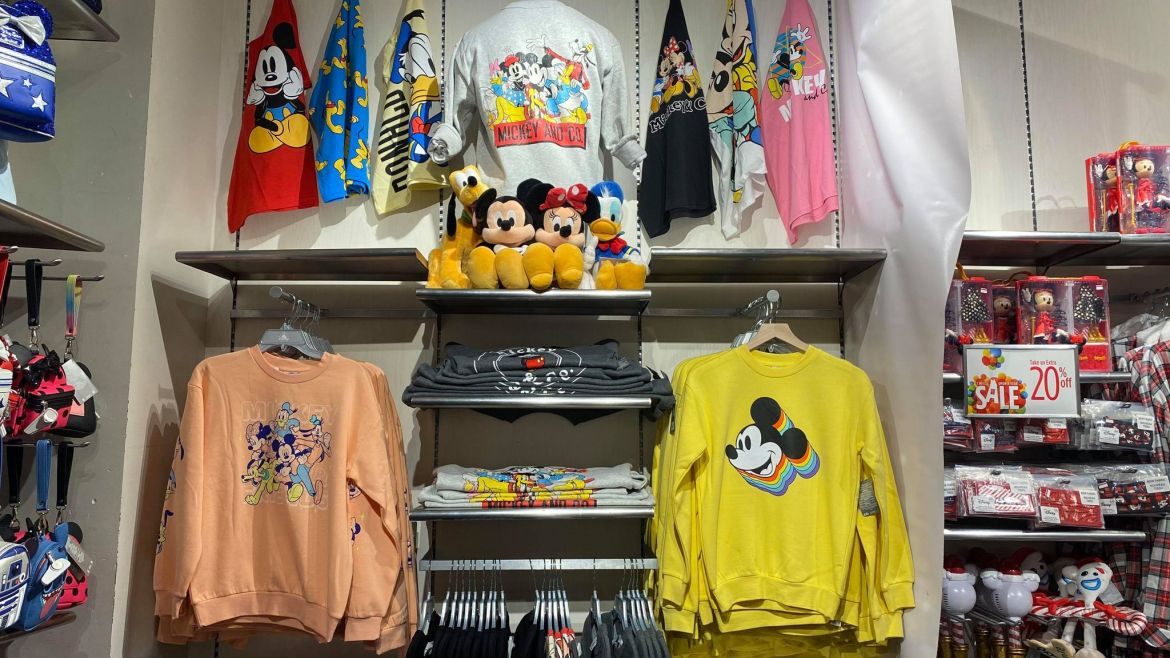 Colorful Mickey & Co Collection Has Bright Retro Vibes