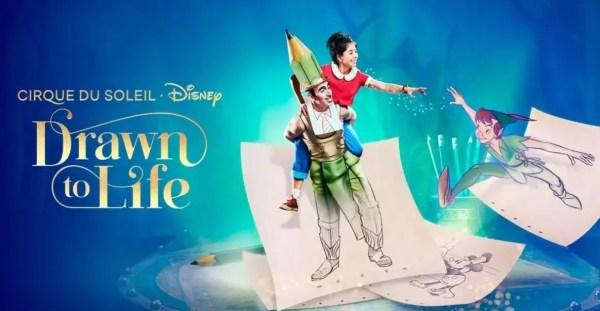 cirque du soleil's drawn to life debut 2021