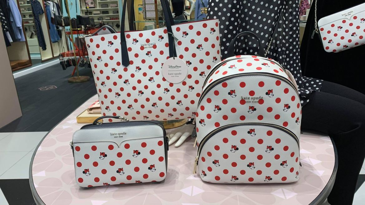 New Disney Kate Spade Collection Rocks The Dots For The New Year