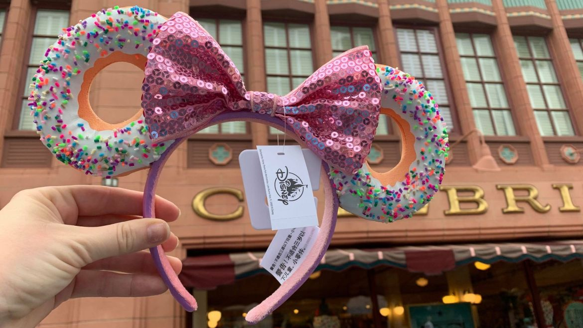 The New Donut Minnie Ears Are As Sweet As Can Be