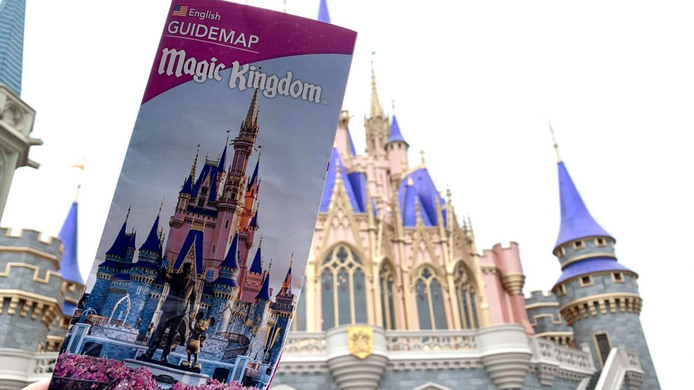 Magic Kingdom Park Map receives an update