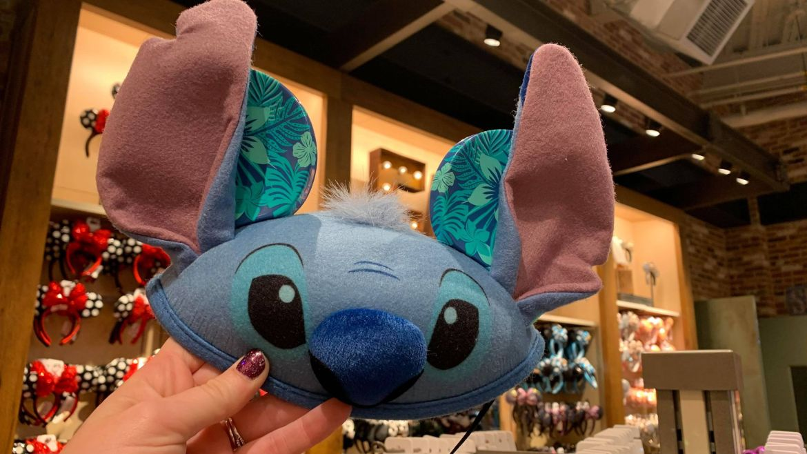 You can look like Experiment 626 in this new Stitch Ear Hat!