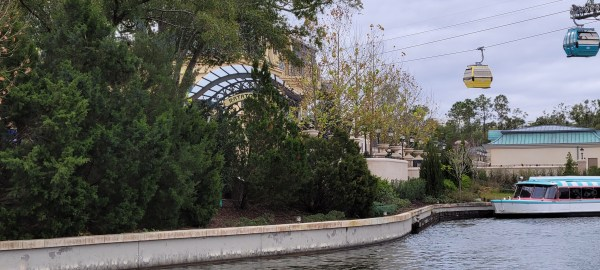 Construction Walls Down at Remy's Ratatouille Adventure in Epcot 6