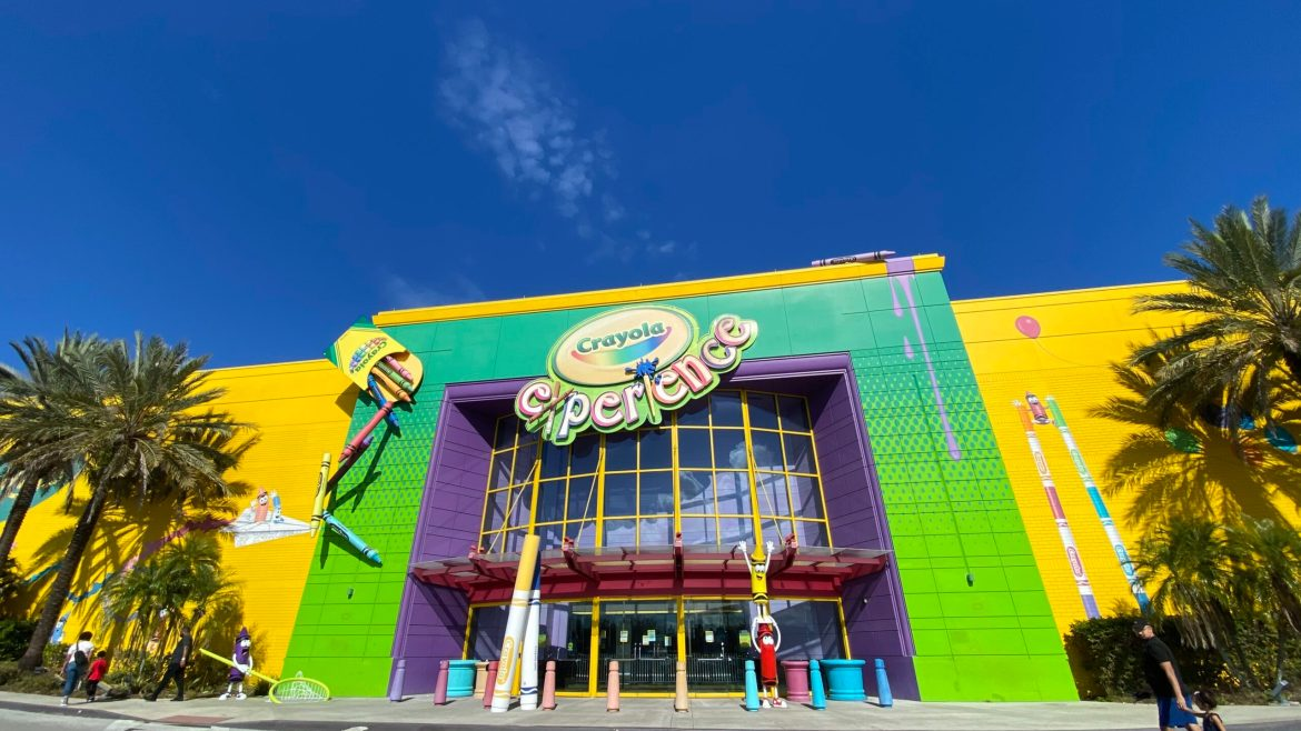 The Crayola Experience in Orlando is a Fun Alternative to Theme Park Days