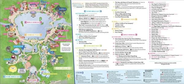 Epcot park map