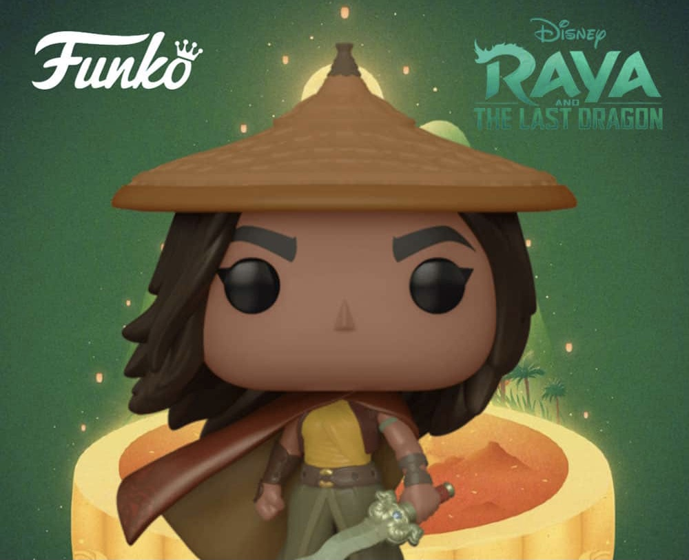 Sneak Peek at 'Raya and the Last Dragon' Funko POPs