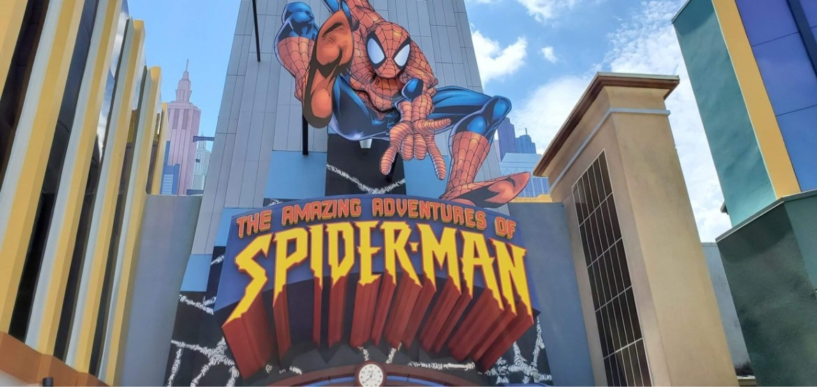 Universal Orlando's The Amazing Adventures of Spider-Man is Getting an Updated Entrance