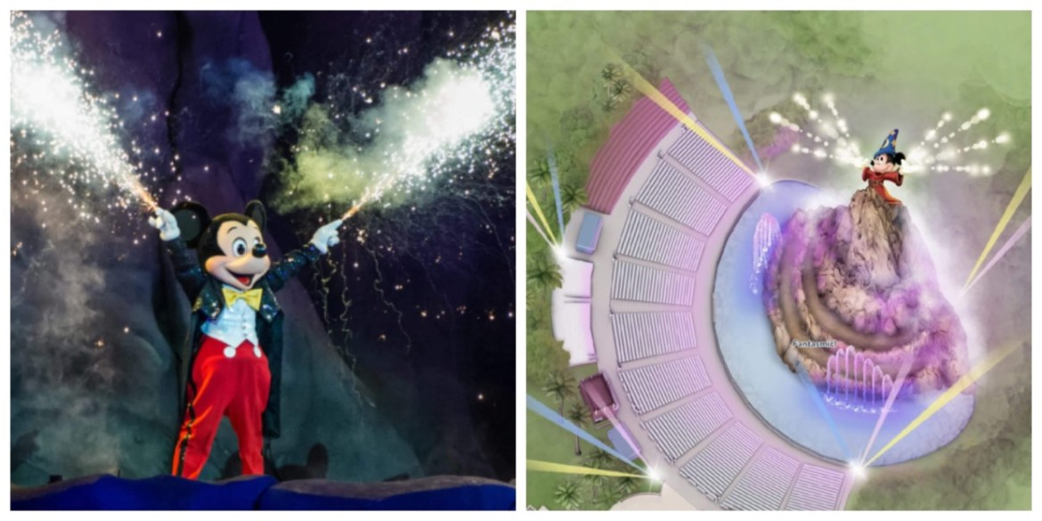 Fantasmic in Hollywood Studios receives an update on the My Disney Experience App