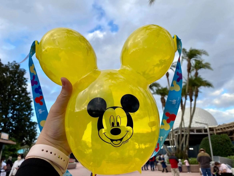 Yellow Mickey Popcorn Bucket Now at Walt Disney World