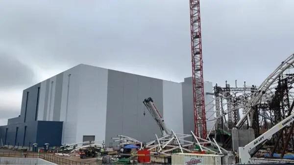 Tron Coater Construction