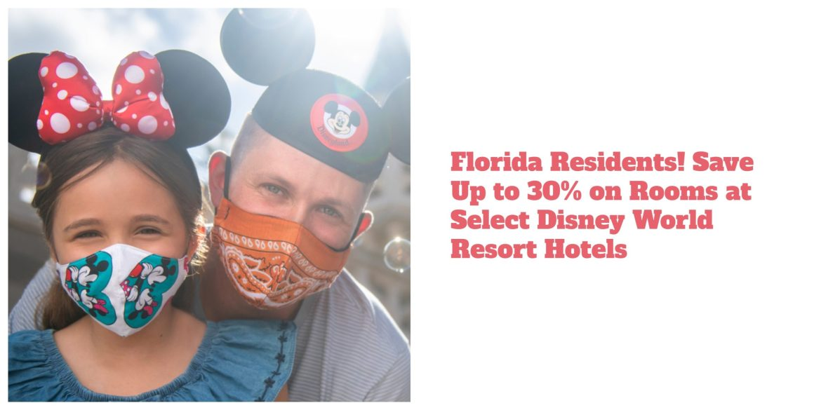 Florida Residents! Save Up to 30% on Rooms at Select Disney World Resort Hotels this Spring
