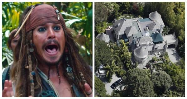 Burglar Breaks into 'Pirates of the Caribbean' Johnny Depp's House 1