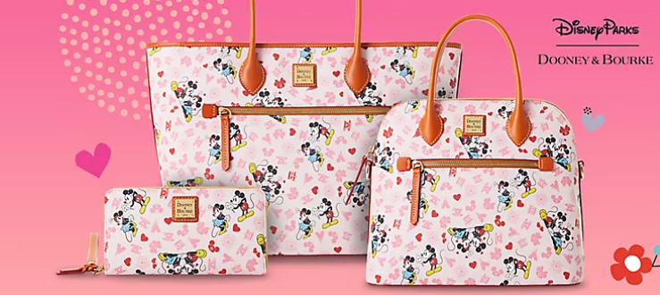 New Valentine's Disney Dooney and Bourke Collection