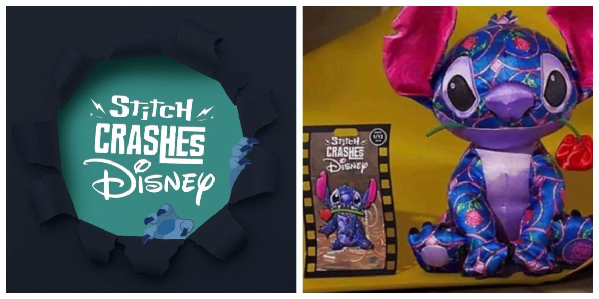 First Look at the Stitch Crashes Disney Collection