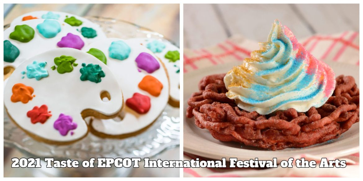 First Look at the Food & Drinks Coming to the 2021 Taste of EPCOT International Festival of the Arts
