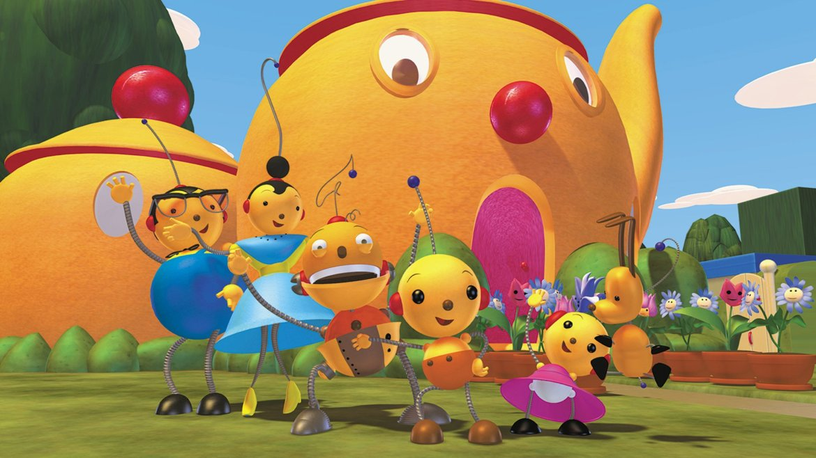 "New 'Rolie Polie Olie' Episodes ""In the Works"" for Disney+"