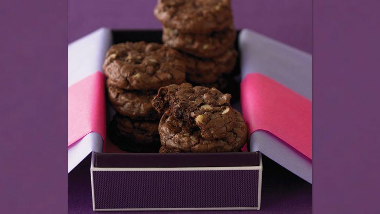 Ghirardelli's Ultimate Double Chocolate Cookies Recipe You Can Make At Home!