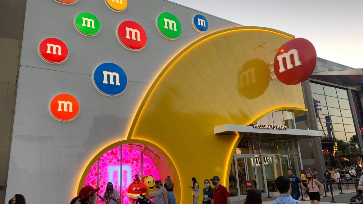 All New M&M Store is now open in Disney Springs