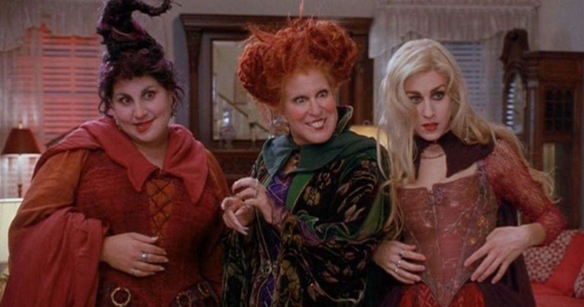 Bette Midler Shares First Photo of the Sanderson Sisters 'Hocus Pocus' 'Hulaween' Reunion