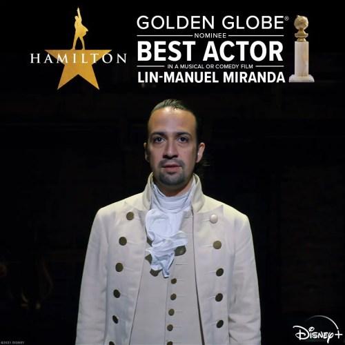 Disney+ Receives Golden Globe Nominations for 'Hamilton,' 'The Mandalorian,' and 'Soul' 5