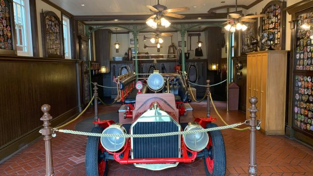 Fire Station reopens with Sorcerer of the Magic Kingdom elements removed 2